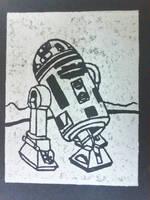 R2 Unit White-Black by CARPEBRI