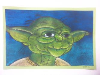 Yoda by CARPEBRI