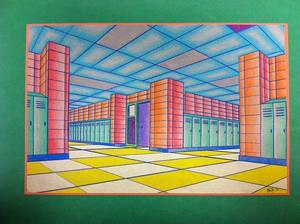 Psychadelic Hallway 2