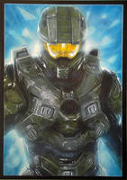 Halo Master Chief by Mark-Duffy