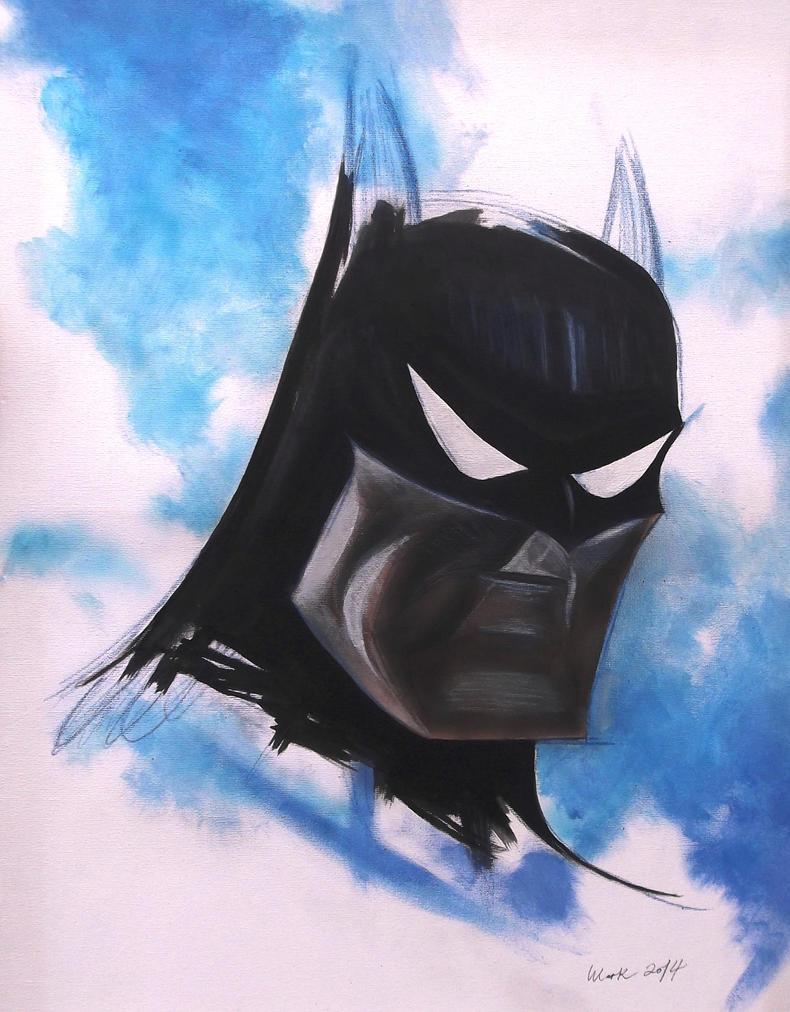 Batman Animated by Mark-Duffy