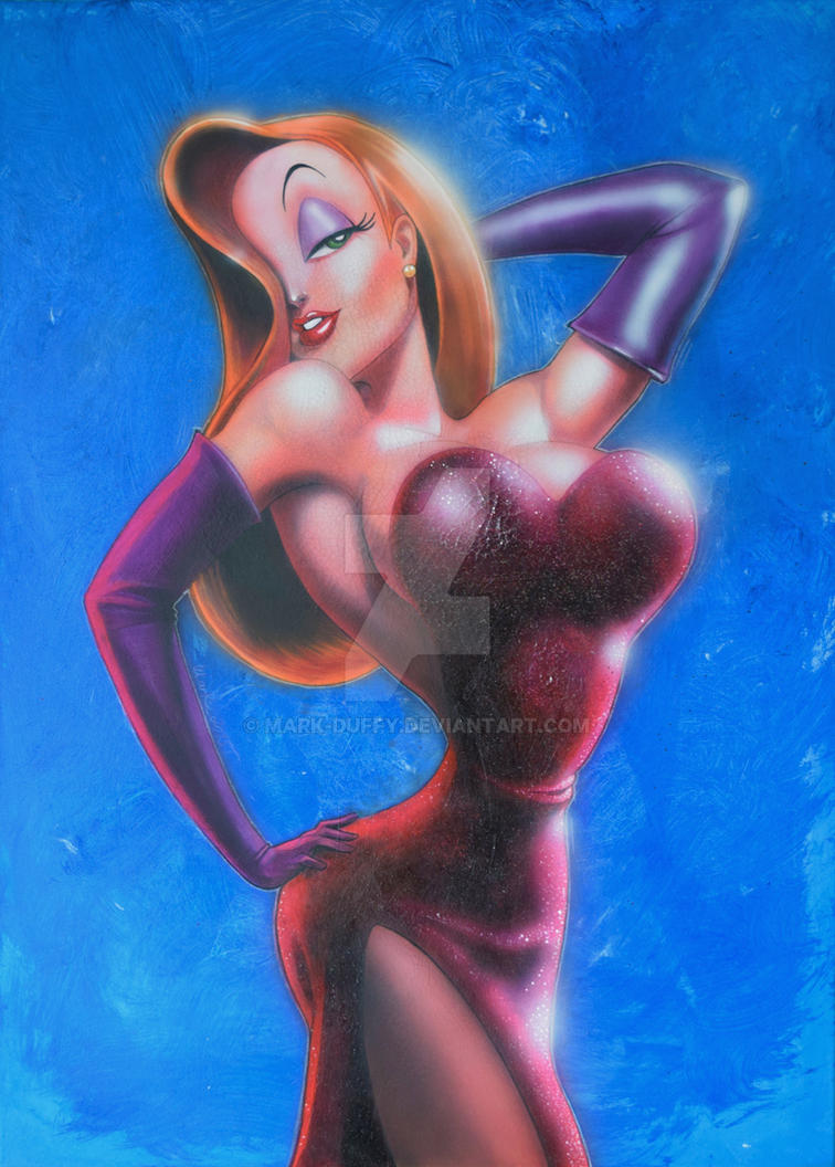 Jessica Rabbit by Mark-Duffy