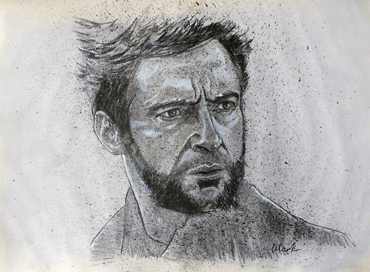 Hugh Jackman by Mark-Duffy