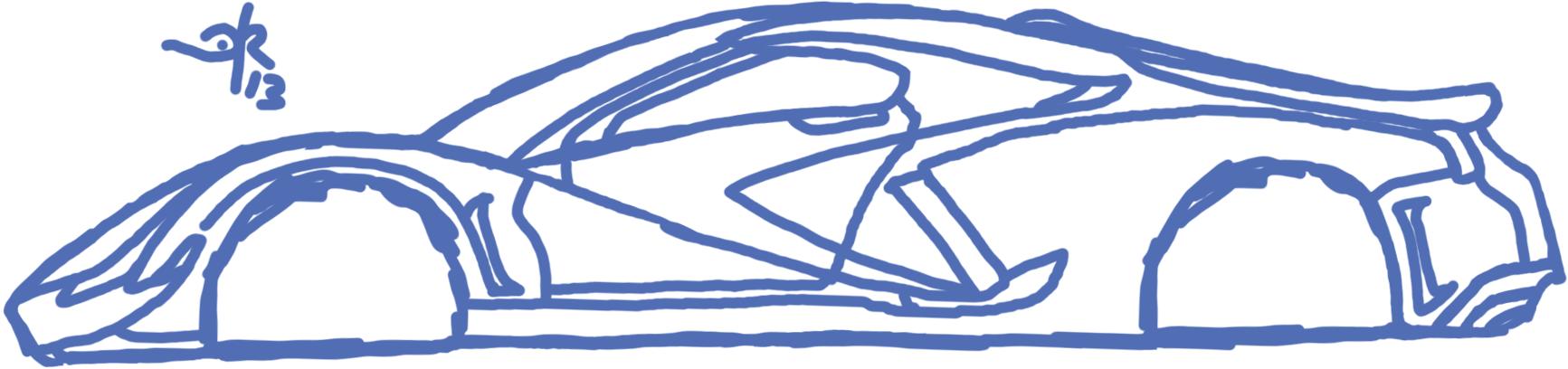 Supercar Sketch By Darkaiz On Deviantart