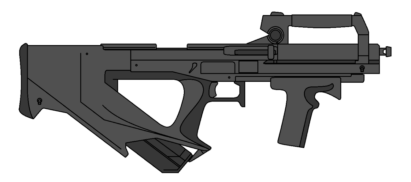 Bullpup Design by Darkaiz