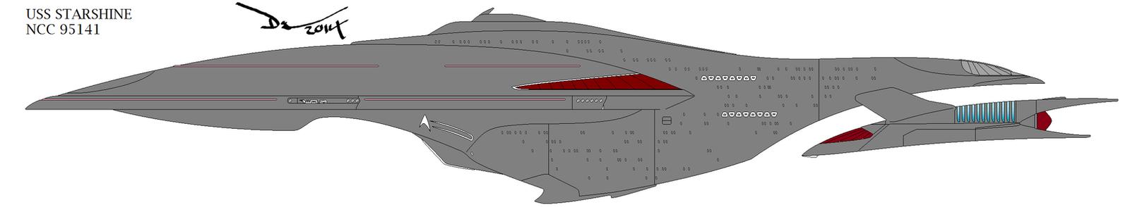 USS Starshine by Darkaiz