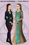 Willow Rosenberg and Tara Maclay by VivianeLeFay