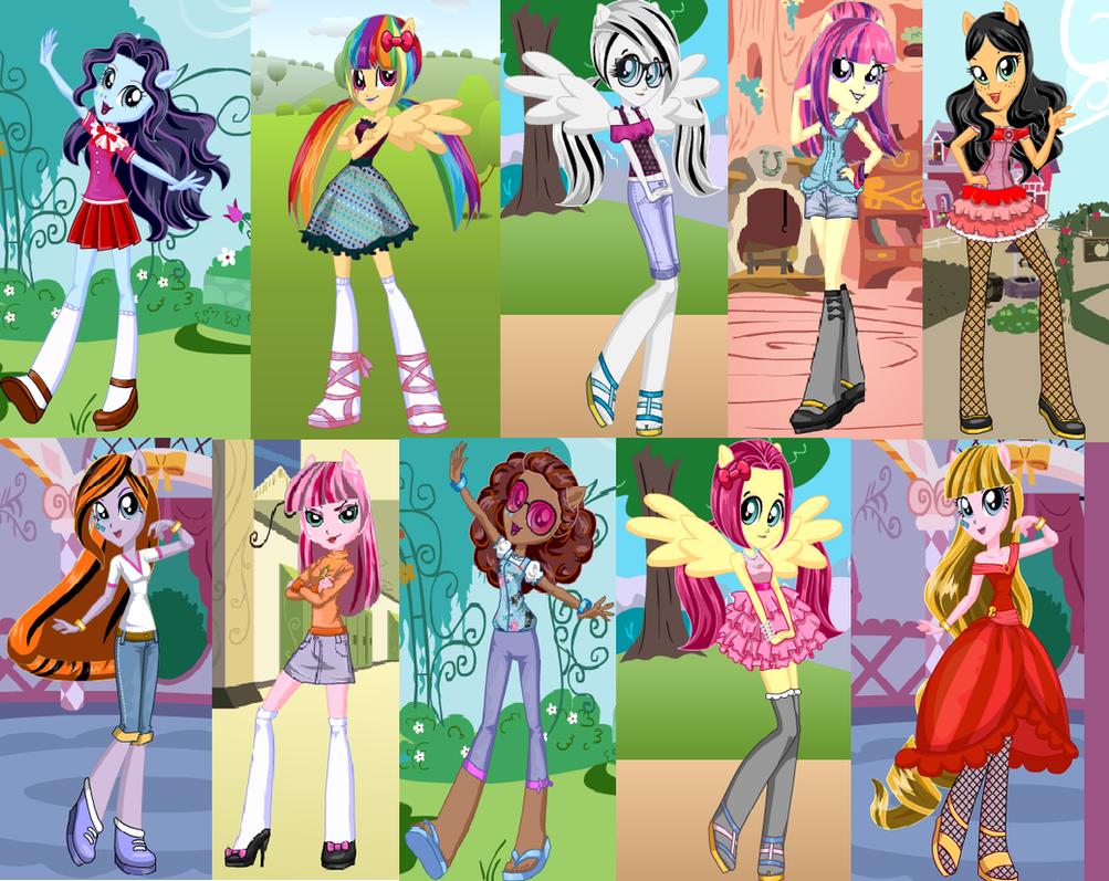Equestria Girls Adoptables! by XMLP-FIM-BasesX