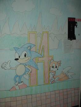 Sonic Wall Art
