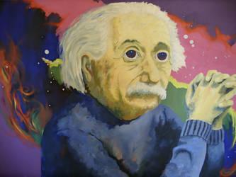 LSD Einstein by InsaneSonikkuFan