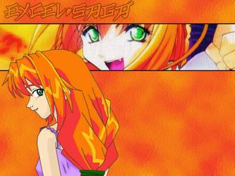 Orange Excel Saga BG by InsaneSonikkuFan