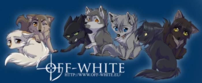 off-white - chibi by akreon