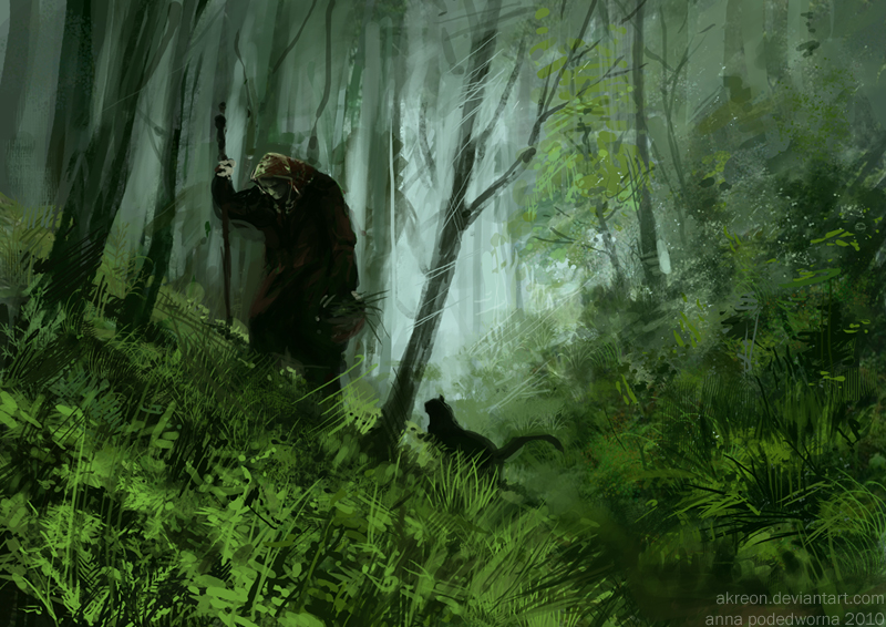 Witch by akreon