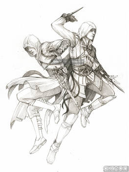 Ezio and Altair