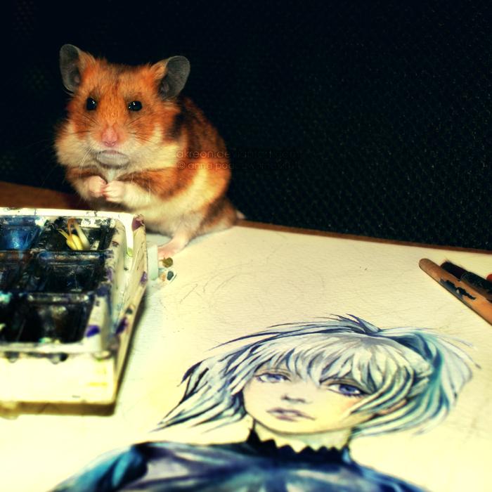 art critic by akreon
