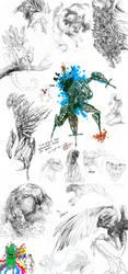 sketch dump 3 by akreon