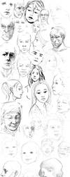FACES by akreon