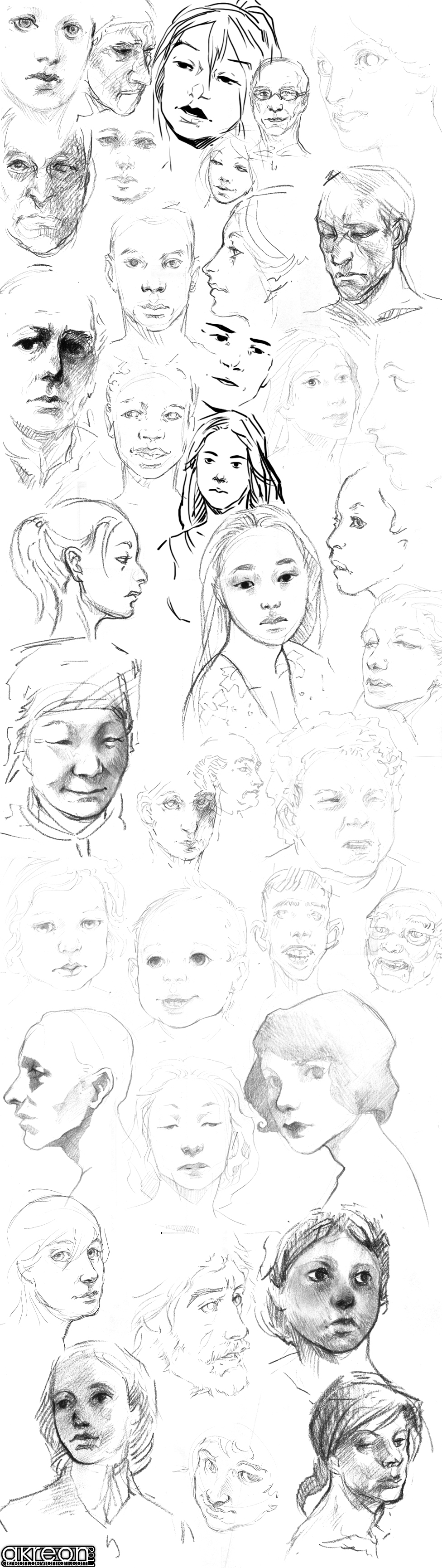 FACES by akreon