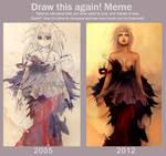 Draw this again: 2005 vs 2012