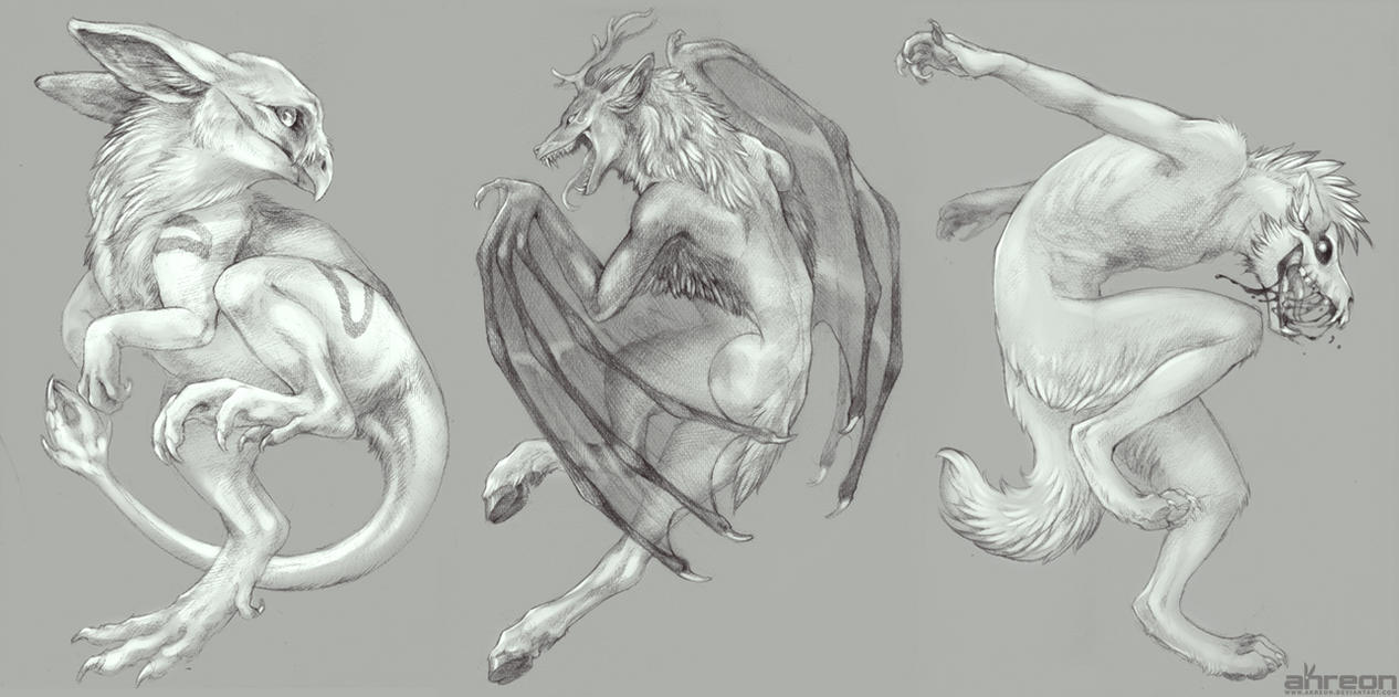 sketch commissions by akreon