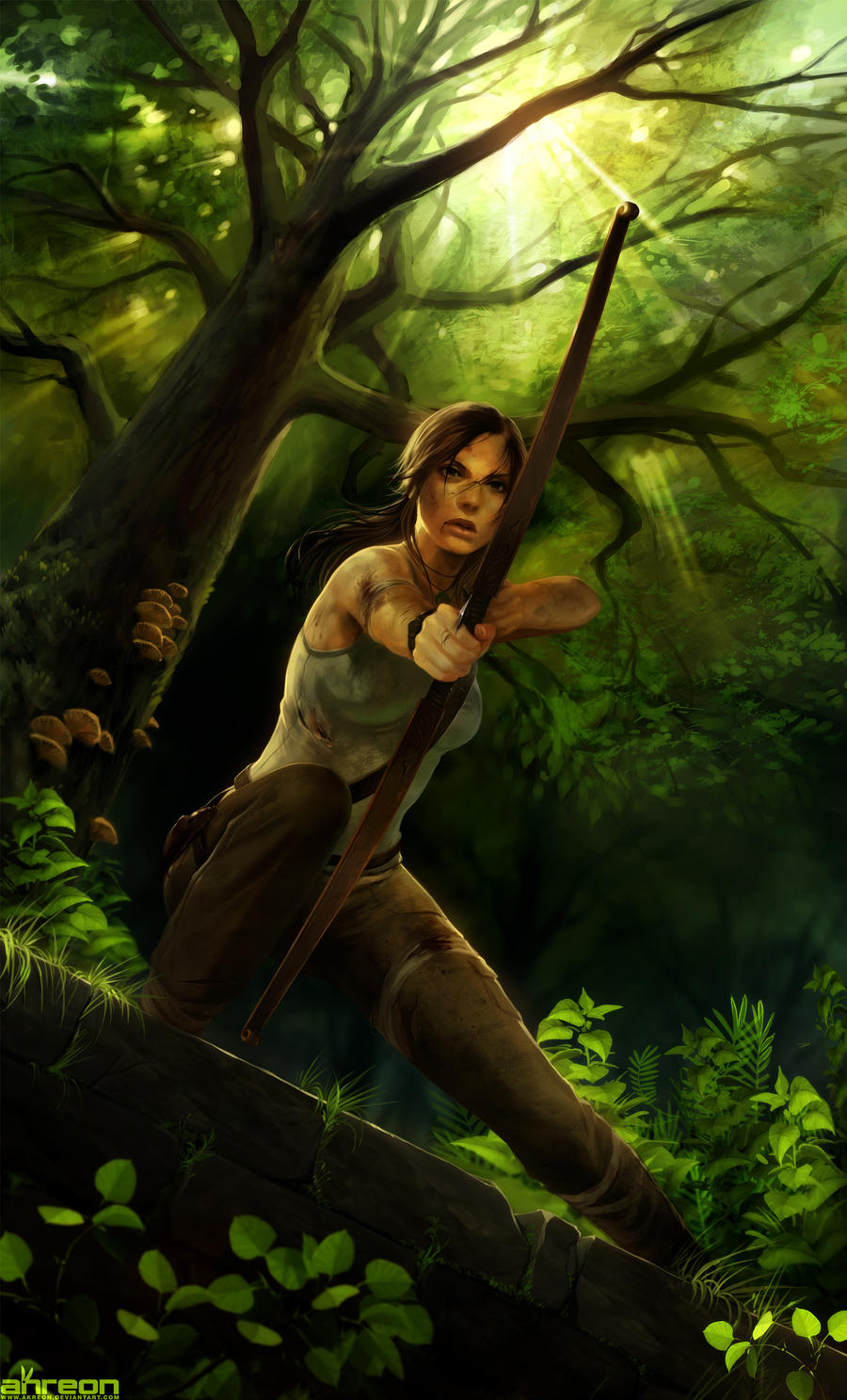 Tomb Raider by akreon