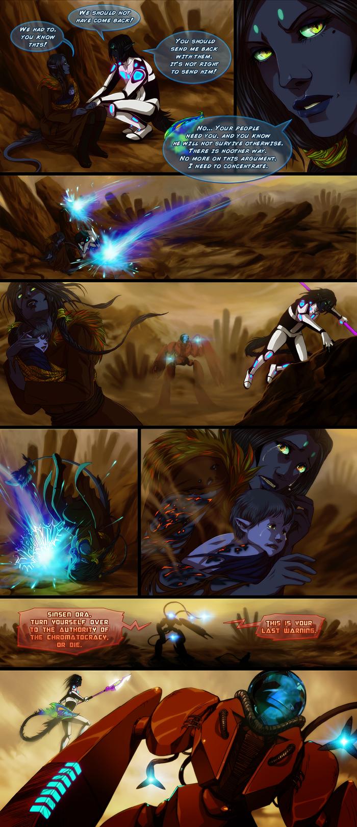 Galaxy Magnolia comic 3 by akreon