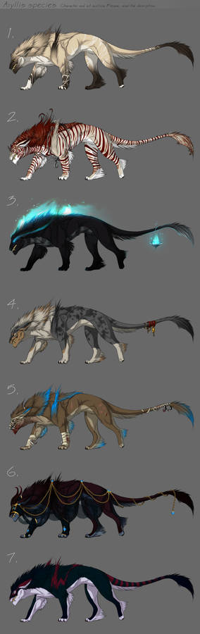 Adoptables - character auction - CLOSED