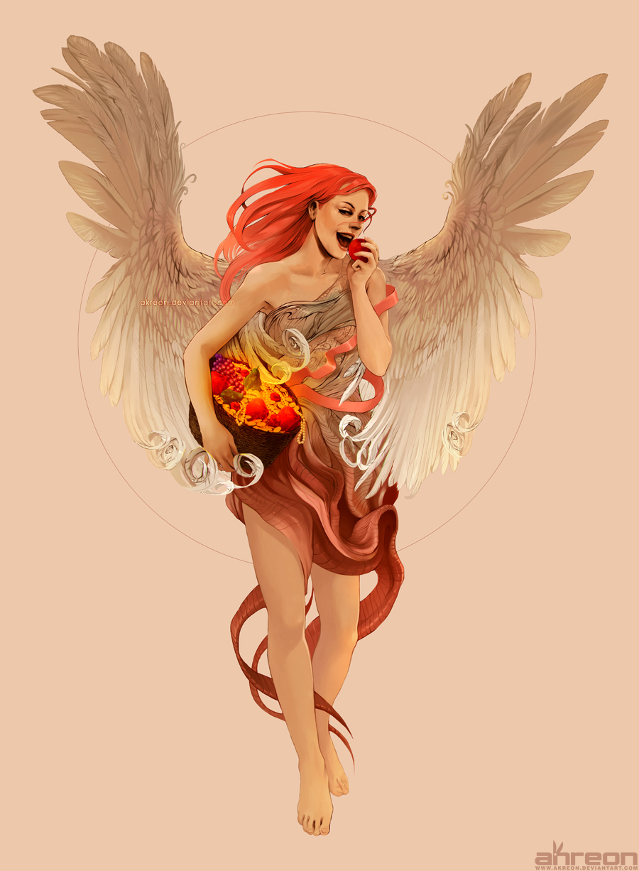 Angel of Abundance by akreon