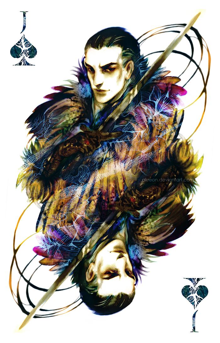 Knave of Spades by akreon