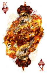 King of Hearts by akreon