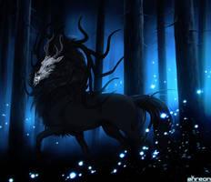 Blue Forest by akreon