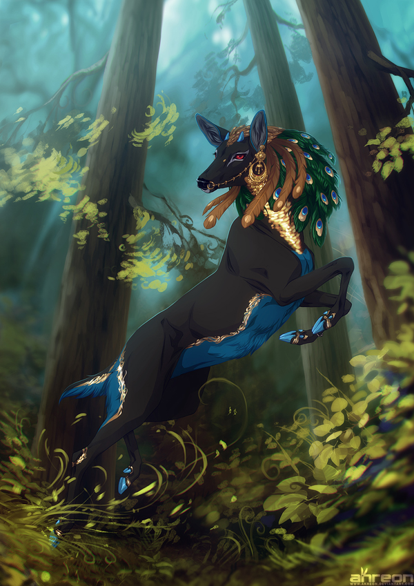 Forest Queen by akreon
