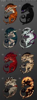 Leoraptors - character auction CLOSED