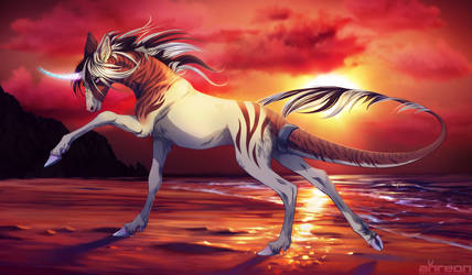 Unicorn by akreon