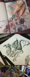 Instagram sketch dump by akreon