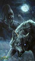 Rabid Wolf - Gwent Card