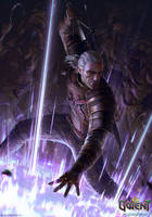 Geralt: Yrden by akreon