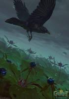 Crow's Eye by akreon
