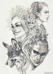 Elves by akreon