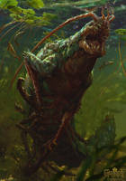 Glustyworp - Gwent Card by akreon