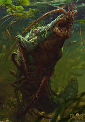 Glustyworp - Gwent Card by akreon