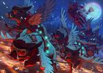 Merry Hogmas by akreon