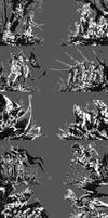 Gwent Victory Screens by akreon