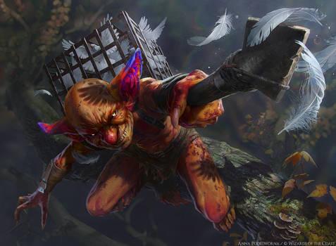 MTG: Nimble Birdsticker