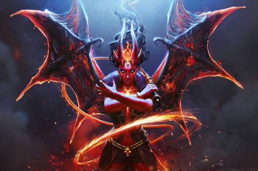 Queen of Pain Arcana
