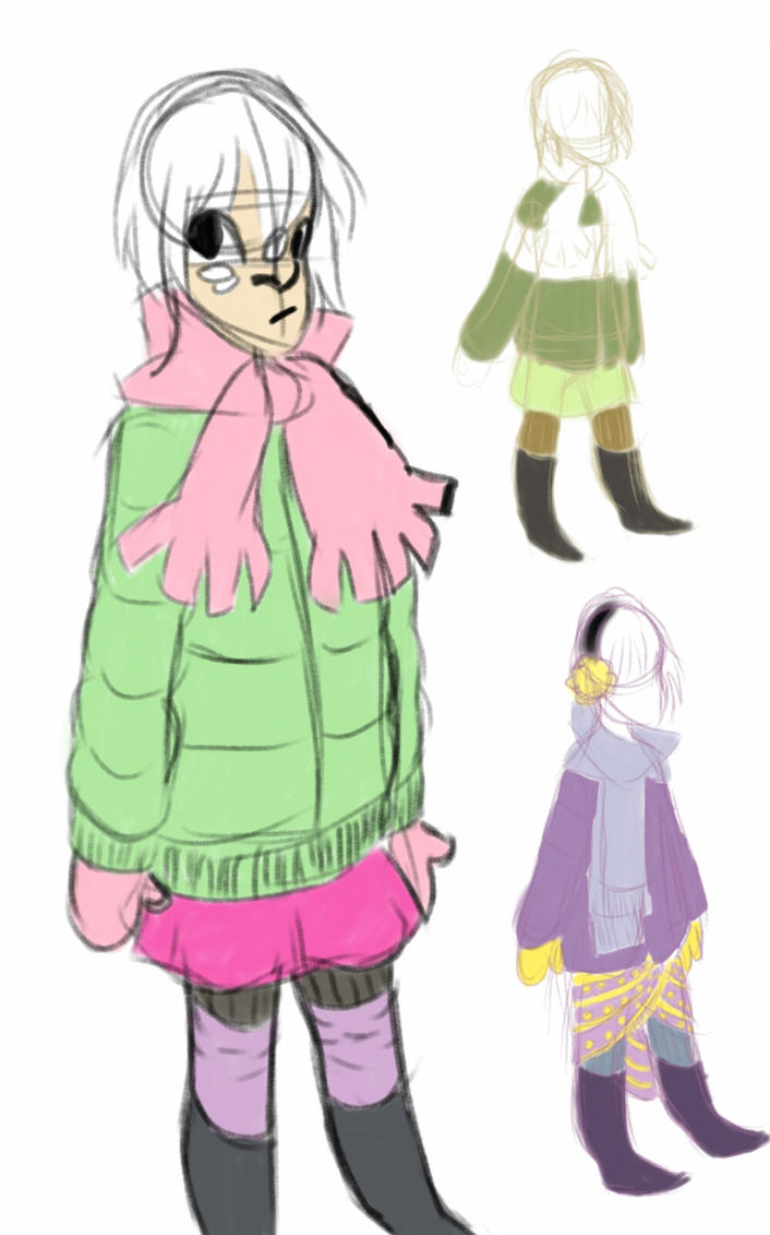 Hanna outfit concepts by robotlover2234
