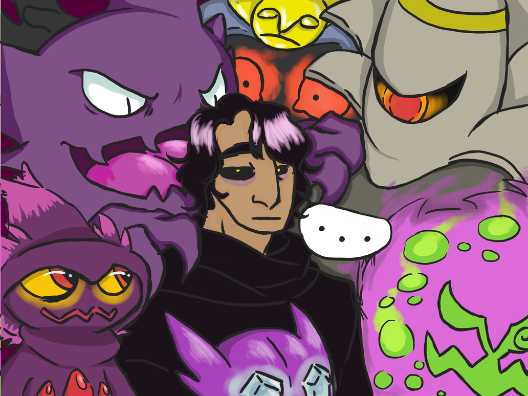 Martin's pokemon team by robotlover2234
