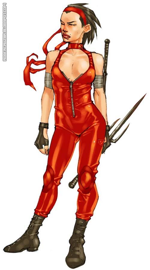 Elektra by rogercruz