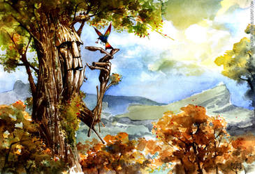Tree by rogercruz