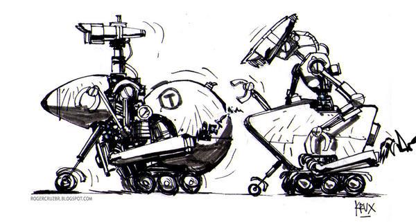 TNT robots by rogercruz
